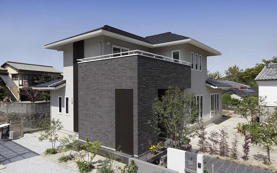 LDKと和室をつなぐことで、約35畳の大空間が生まれる家。【福岡県・T様】
