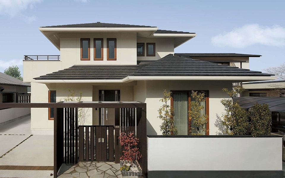 LDK、サブリビング、2階リビングまで オープンにつながる家。【静岡県・H様】