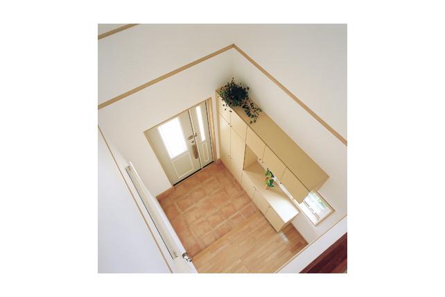 イメージ 関連キーワード 吹き抜け 玄関 インテリア テラコッタタイル  玄関 吹き抜け 耐震、