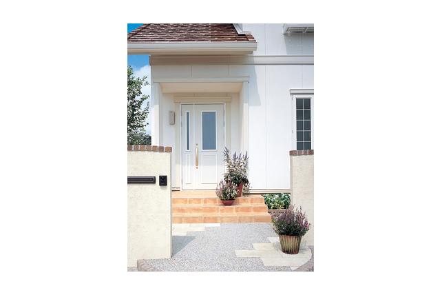 イメージ 関連キーワード 玄関ポーチ 南欧風 住宅  セゾンA 玄関ポーチ|耐震、免震、省エネ、