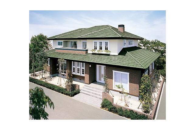 イメージ 関連キーワード 寄棟屋根 二世帯住宅 間取り 下屋 煙突  セゾンF 二世帯住宅|耐震
